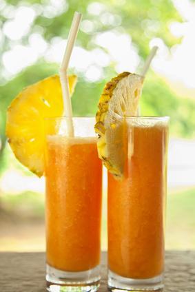 Recettes minceur-Carottes-orange-ananas
