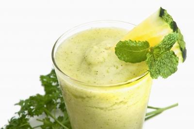 Recettes minceur- Soupe froide d'ananas