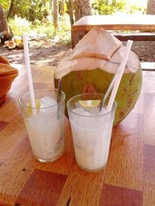 Recettes minceur-smoothie coco