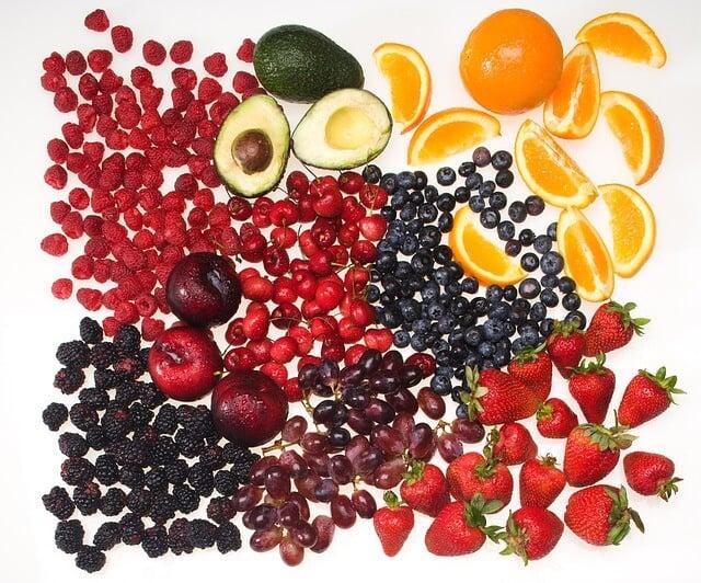 Dessert sans sucre ajouté: fruits rouges