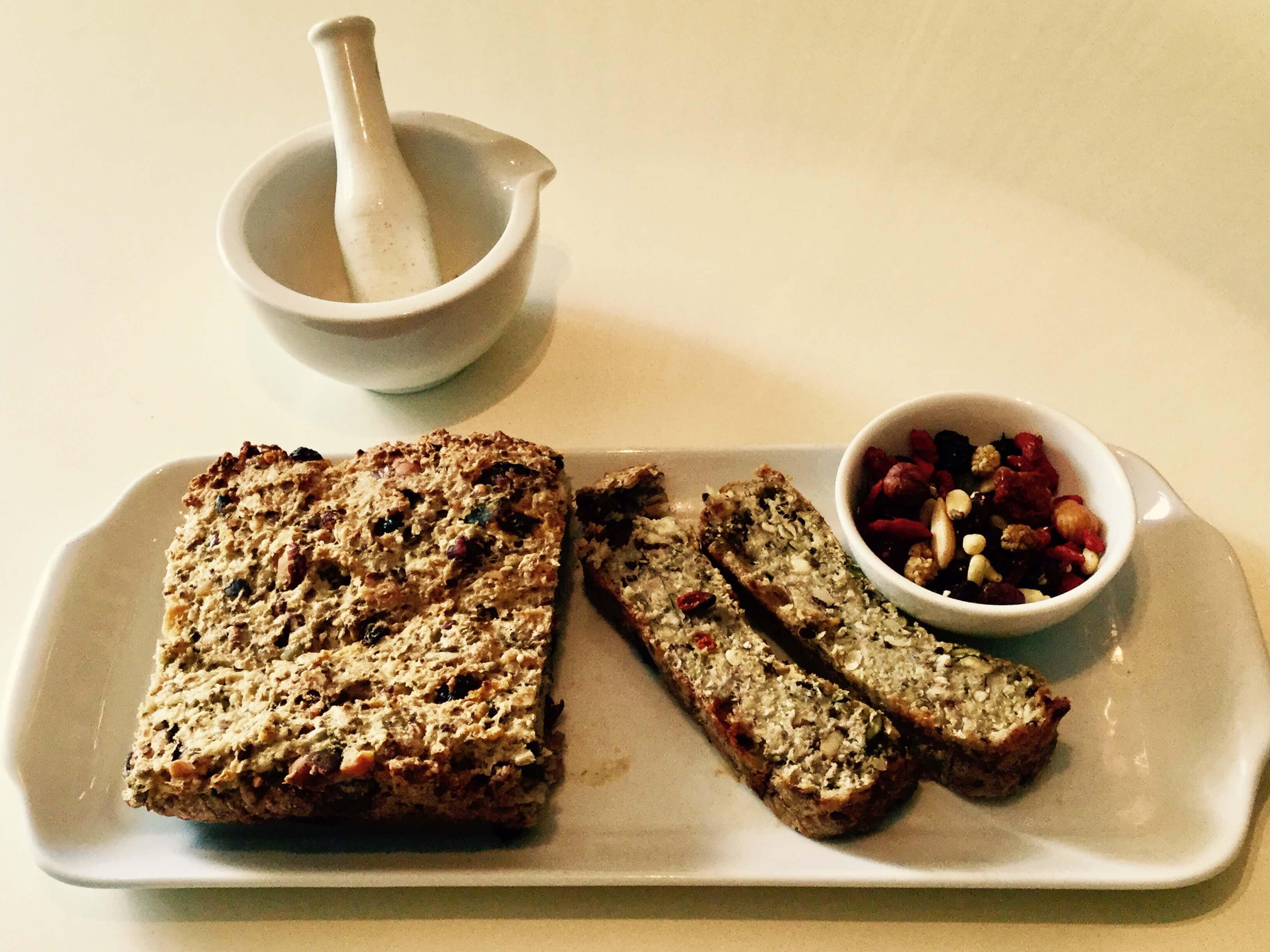 Recettes minceur- pain aux graines sans gluten IG bas