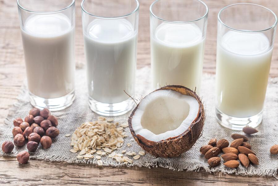 Recettes minceur- collation saine-lait végétal