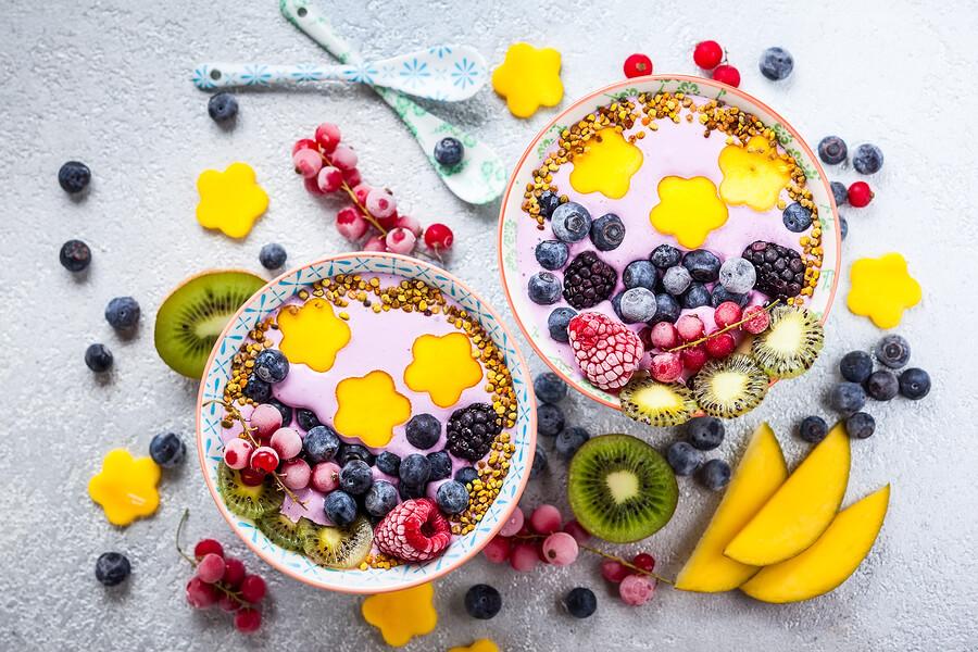 Recettes minceur- Petit déjeuner fruité