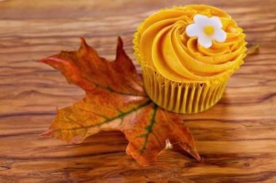 Recettes minceur- dessert sans sucre ajouté-cupcake courge-marrons