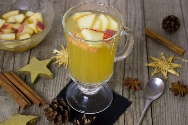 infusions minceur-Detox-pomme-épices