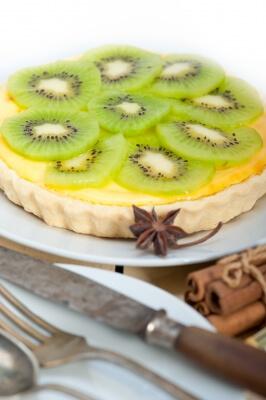 Recettes sans sucre ajouté-Tarte kiwi-pomme-coco