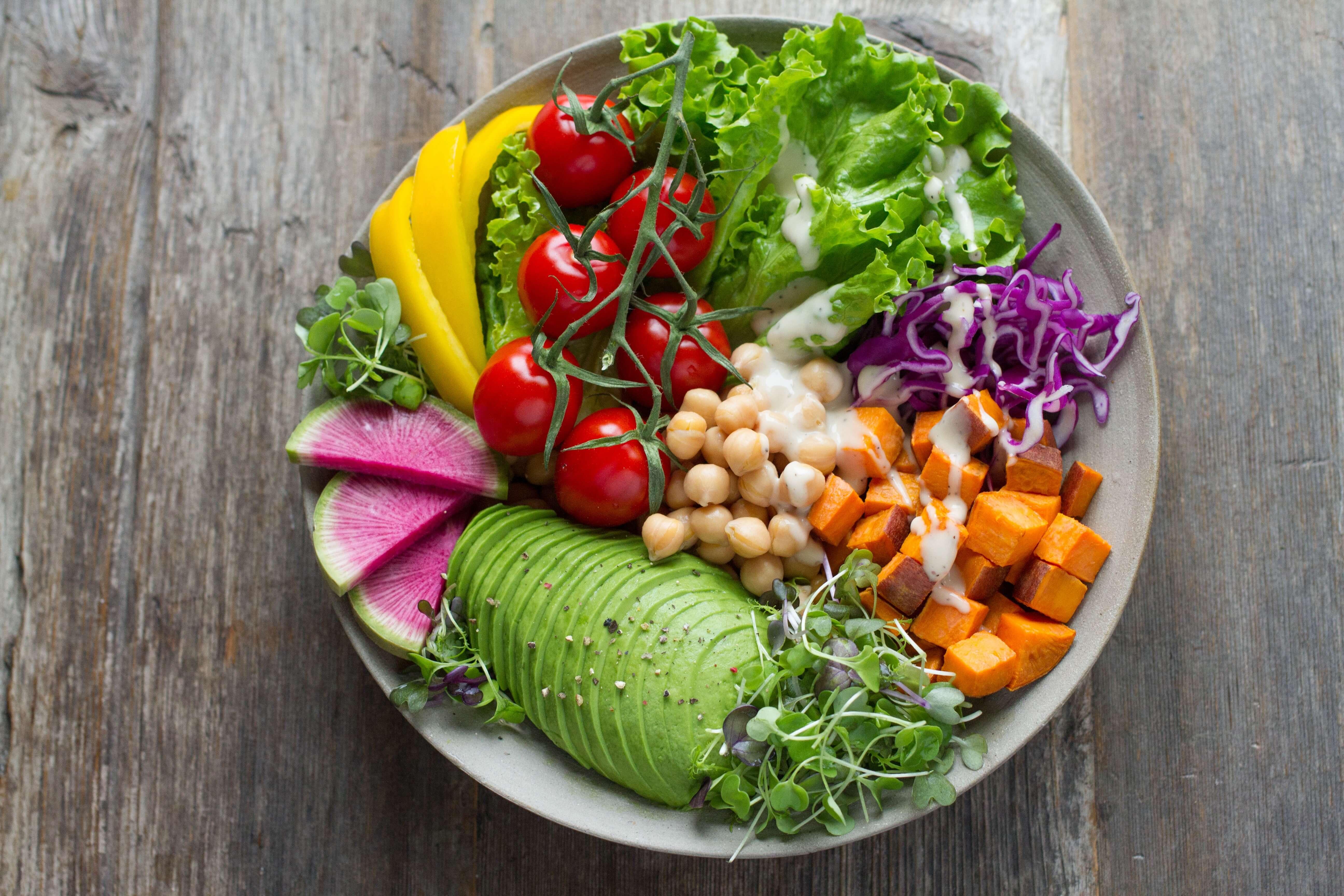 Menus Minceur et Detox-Salade boost D-tox