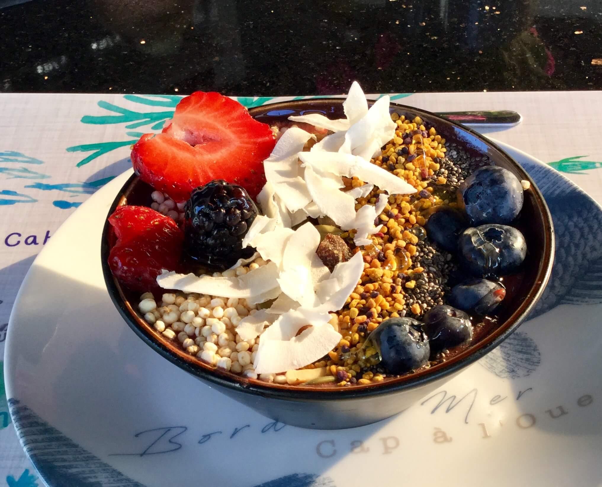 recettes minceur-smoothie-bowl-fruits-rouges