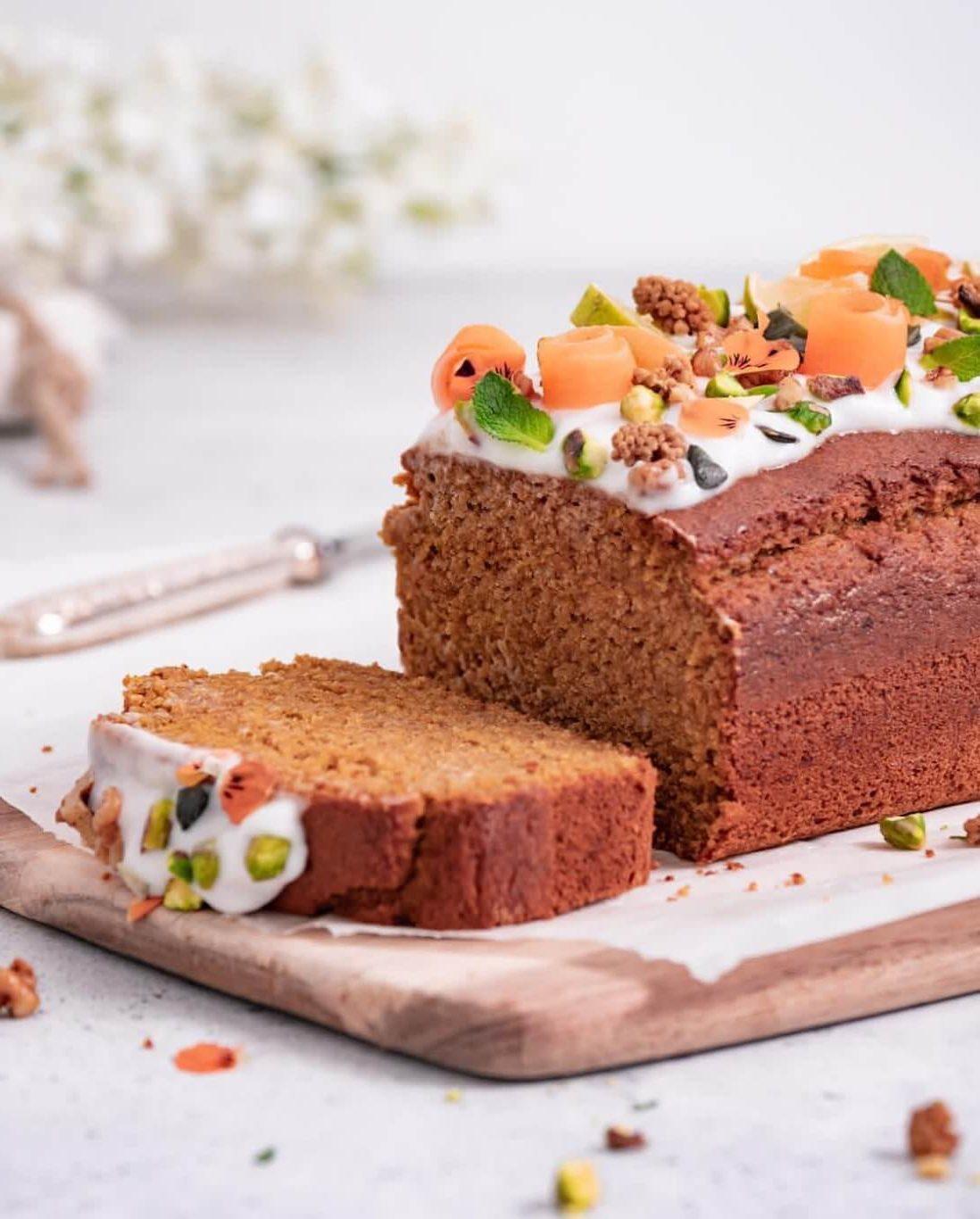 Recettes sans sucre ajouté-cake léger aux carottes