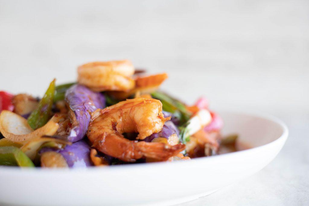 recette minceur: soupe de crevettes céleri coco