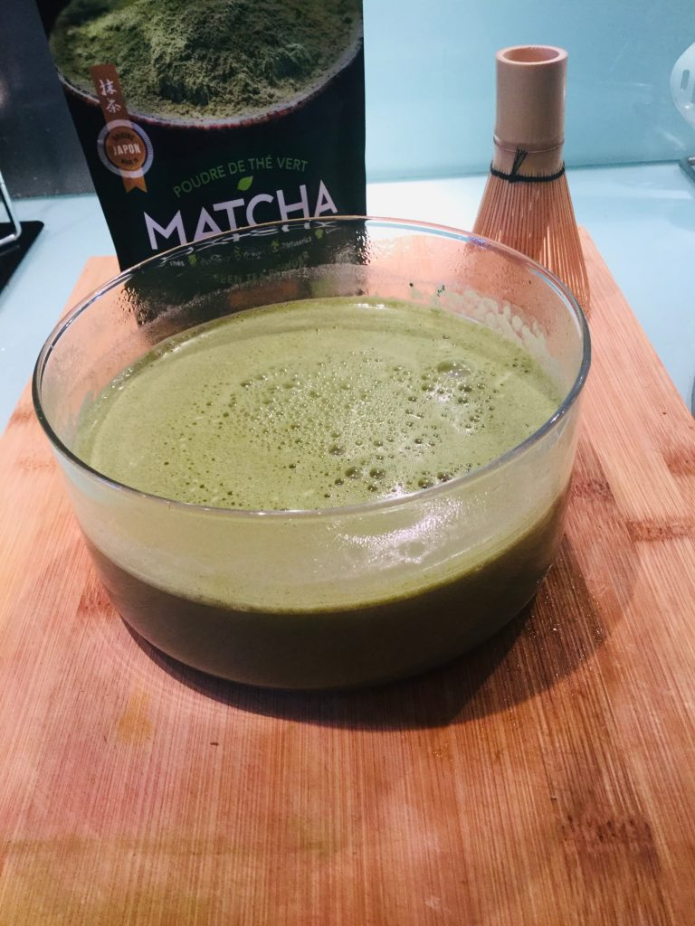 superaliments : panna cotta matcha coco